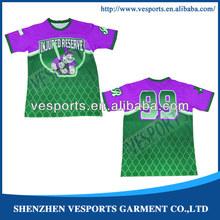 Custom print men v-neck t shirt