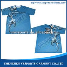 sublimation custom polyester shirts