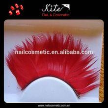 false eyelashes red cherry