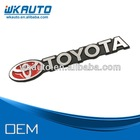 new and hotsale 3D japanese car logo aluminum metal car emblem