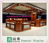 luxury wholesale gold retail store jewelry display kiosk design