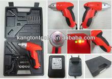 Rechargeable 4.8V Cordless electric screwdriver power bit set kit screw