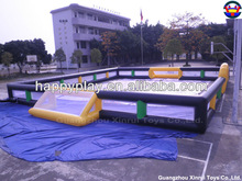 tall wall soccer football inflatable football pitch