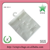 Frosted pvc packaging bag with hanger for clothes