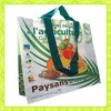 PP shopping bag with laminated for supermarket