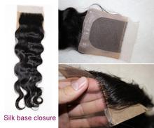 High grade aaaaaa filipino virgin hair silk base closure