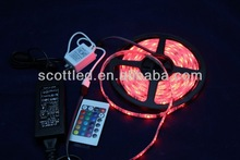 High Brightness 5050 smd rgb led strip light; led magic color strip light; 12v input, epistar 5050 smd ic chip