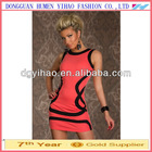 2014 New Summer Women Ladies Clothing Sexy Club Wear Sleeveless Tank Sheath Dresses