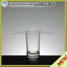 2014 hot selling novelty special shape shot restaurant glassware