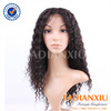 2014 new arrival queenlike natural black color virgin remy natural hairline full lace wig