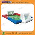2014 personalizado novo campo de futebol inflável, sabão de futebol playground