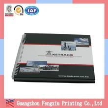 Cheap Loose-leaf Custom Printed Chipboard Spiral Notebook