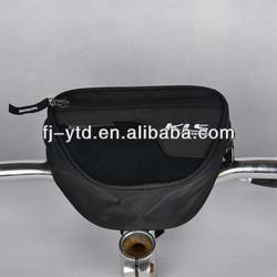 Small mesh front pocket City bicycle Handlebar Bag