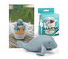 Fred and Friends Manatee Tea Infuser Manatee Sea Animal Shaped Silicone Steeper
