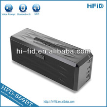 OEM Mini Wireless Bluetooth 4.0 Portable Boombox Speaker With MIC/ SIRI /NFC