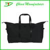 2014 good and fashion handle style black travel bag