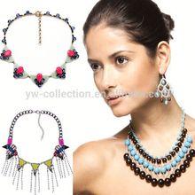 3PC MOQ free shipping Yiwu Collection Fashion Accessory Colorful bead jewlery