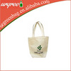 Promotional Tote Bags Canvas Cotton With Zipper
