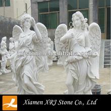 China White Marble Angel Statue,garden statue angel
