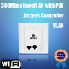 2T2R 300Mbps hotel indoor wireless ap router support 802.3af POE, Access controller, VLAN with RJ45 & RJ11 telephone port