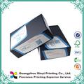 Modificado para requisitos particulares de color plegable en forma de corazón display caja de papel corrugado