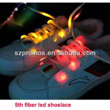 5th Generation LED fiber shoelace