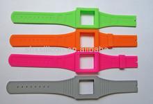 silicon snap strap watch,silicon strap wrist watch,silicone band fashion watch