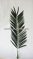 mini artificial palm tree leaves