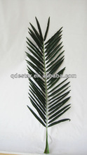 mini artificial palm tree leaves