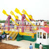 Theme park playground rides attractions Arabic flying carpet