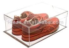 wholesale acrylic/plastic/clear/baby/custom/custom printed shoe boxes