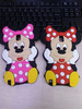 3D Cute Cartoon Minnie Silicon back Case For Samsung Galaxy Note3 Note 3 N9000