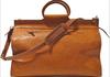 Lightweight Business Tote Duffel/Traveler Tote Leather Duffel Bag