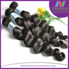 Mongolian Virgin Remy Loose Wave Weft Unique Hair Extensions