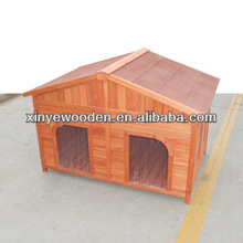 Double dog house Big Size with 2 doors available for 2 dogs