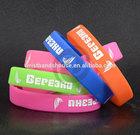 debossed inkfilled wristbands | debossed inkfilled silicone wristbands | inkfilled bracelet