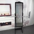 Parage dentelle miroir antique meubles, dressing armoire à bijoux avec miroir