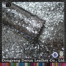 Silver Leather Sofa
