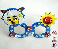 DIY fun EVA foam glasses for kids