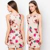 2015 Floral Print Sleeveless Elegant Dresses/ Online Shopping Clothes Women