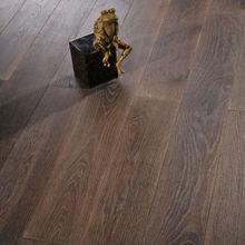 Solid Ukrain oak timber hardwood flooring (Smoked)