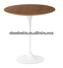 Wood top Table,round Wood top Table,solid wood flip top dining table CT-609