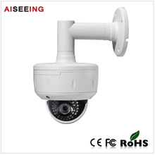 Super WDR Dual Power Supply Vandalproof IP66 IR Dome CCTV Camera