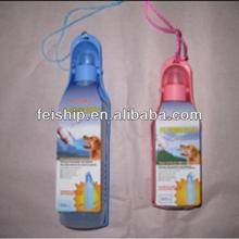 500ml plastic dog drinking bottle