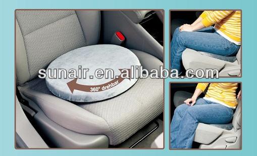 360 градусов автомобиля поворотные сиденья с памятью пеной