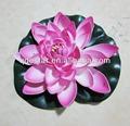 artificial flotante de flores de loto