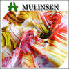 Mulinsen Textile New Design 100% Polyester Printed Silk Chiffon Dress Fabric