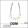 Fashion walmart jewelry wholesale in china, opal gemstone crystal necklace jewelry