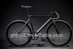 700C fixed gear bike fixie gear bike bicycle full matte black aluminium frame single speed road bike bicycle