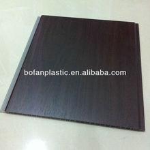 dark design PVC laminated wall panels